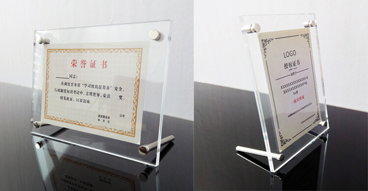 Poster frame acrylic sheets