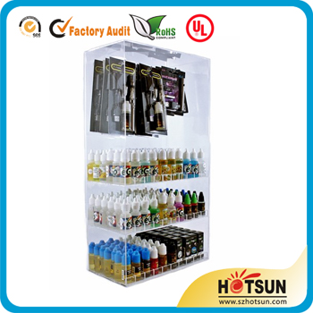 E-cigarette display case