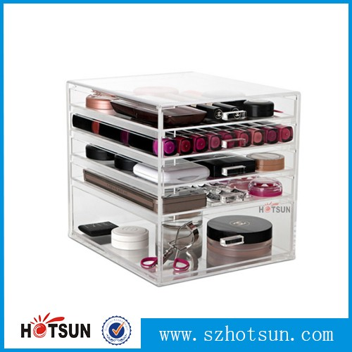 Tiers Wholesale Acrylic Makeup Organizer Drawer