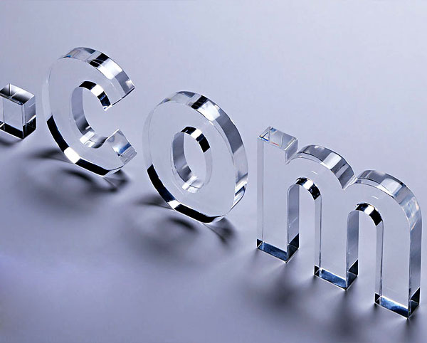acrylic letters