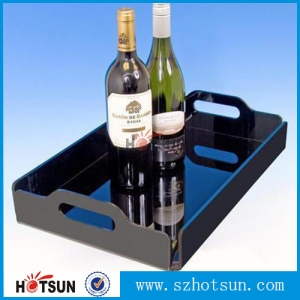 2015 Hot Sale!!! hot sale customized acrylic tray displays
