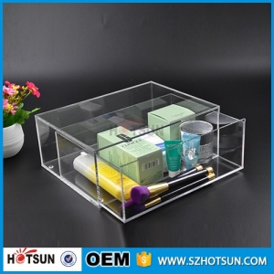 2016 Clear Makeup Organizer Acrylic Cosmetic wholesale