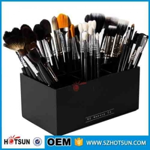 6 Grids Clear Acrylic Makeup Cosmetic Organizer Storage Lipstick Holder Case Box