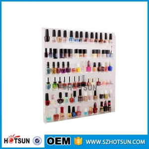 7 tiers acrylic nail polish display stand factory