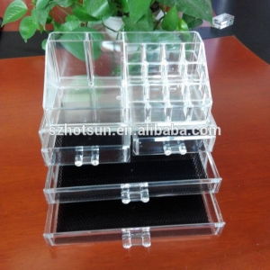 Acrylic Professional Makeup Display Stand