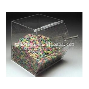 Countertop Container Acrylic Candy Holder Display Box