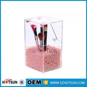 Acrylic makeup brush holder makeup brush storage box