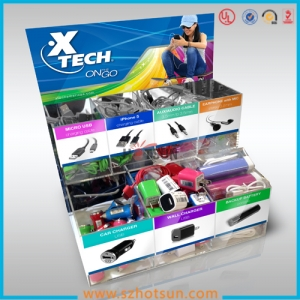 Cell phone accessory display supplier