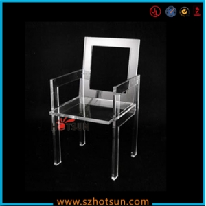 Cheap transparent acrylic ghost dining chair