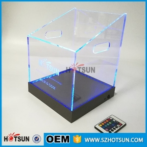 China Factory Sell Bar Used Acrylic Cutomed Led Ice Bucket