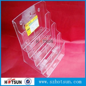 China leaflet brochure holder box,catalog stand