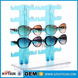 Colorful acrylic sunglass display stand