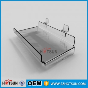 Custom Acrylic Shoe Display Plastic Shoe Store Display Rack