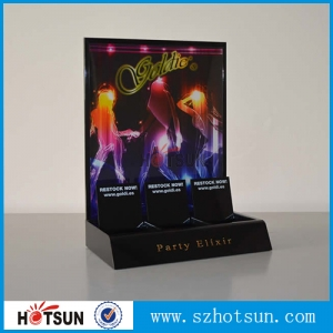 Custom acrylic LED display holder,acrylic led display