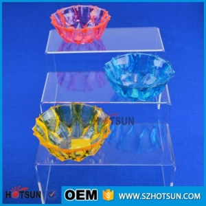 Customized Stackable U Shape Acrylic Shoe Display Case