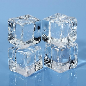 Customized acrylic artificial fake ice cube plastic ice cube