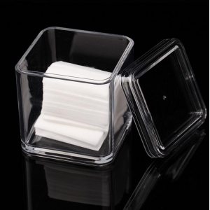 Cylinder clear acrylic high-end candy box with slip lid