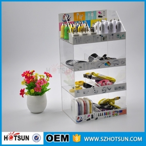High Quality Cell Phone Accessories acrylic countertop display