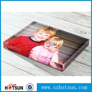 High quality acrylic paperweights for gifts