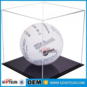 High quality basketball acrylic material display boxes