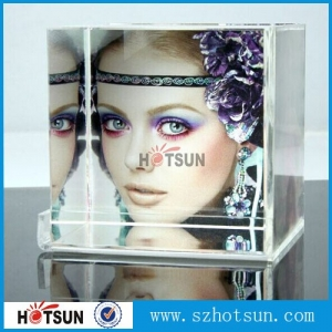 Hot item Acrylic Photo Frame/ Luicte Picture Holder/ Perspex Photo Stand sexy acrylic cube photo frame