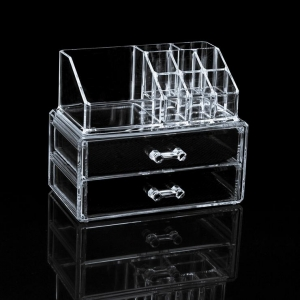 Hotsun makeup display stand Professional design cosmetic acrylic display stand
