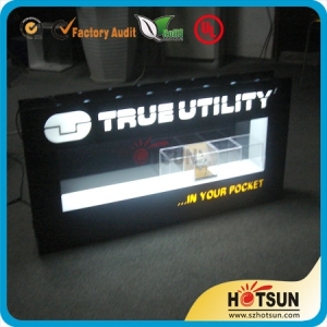 LED lighting box. LED sign,LED display stand