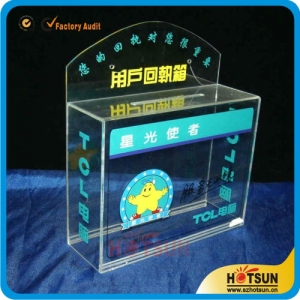 Plastic Acrylic Ballot Box wholesale