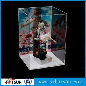 Plexiglass model display box
