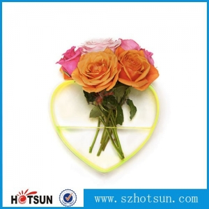 Simple Acrylic Vase Home Decoration Acrylic Flower Display Vase