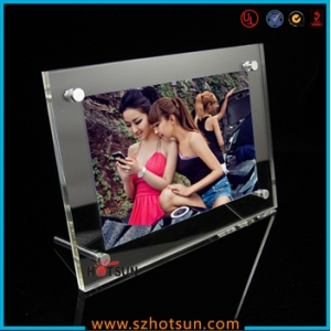 Top quality custom beautiful design hot sexy girl picture pop acrylic photofunia photo/double sided acrylic picture