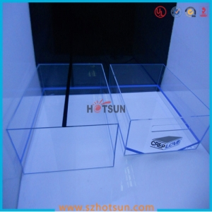 Wholesale Clear acrylic shoe box china