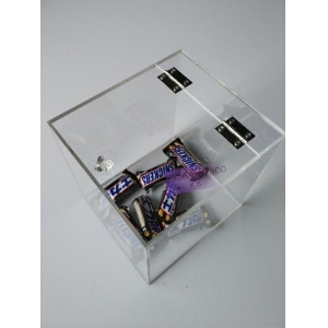 Wholesale clear acrylic candy box/plastic candy containers/acrylic display for candy