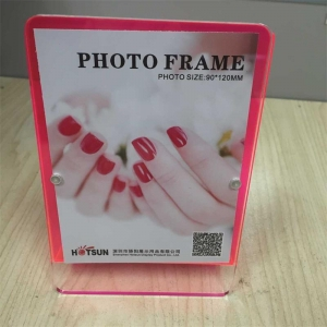 acrylic 8x10 magnetic photo frame
