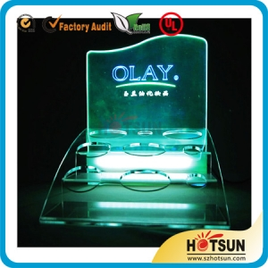 acrylic LED display for ecigarette