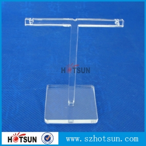 acrylic T shape earring display rack china factory