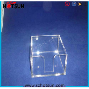 acrylic customized note paper holder