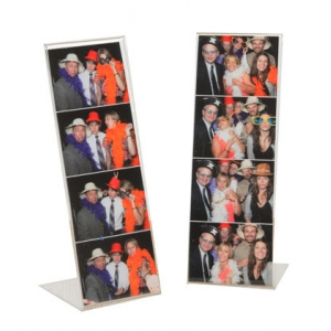 acrylic material and photo frame type L shape acrylic 2x6 photo booth picture frame