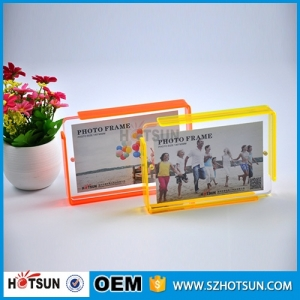 clear acrylic picture photo frame photo frame 4x6,5x7 wholesale custom acrylic photo frame Quality Choice