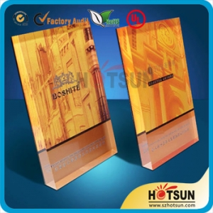 customized design acrylic award
