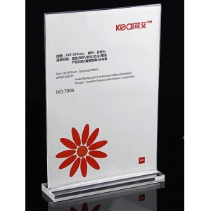 factory direct acrylic sign holder