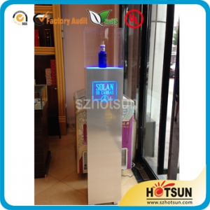 led acrylic lighted display case