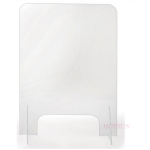 nail salon plexi glass acrylic splash guard shield sneeze