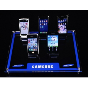 shenzhen best quality phone store acrylic mobile phone holder/mobile phone display units/clear acrylic cell phone Quality Choice