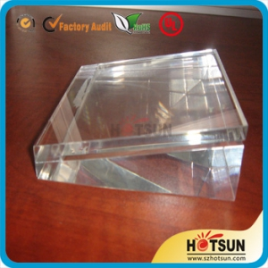Plexiglass block plexiglass block products plexiglass for Large acrylic block