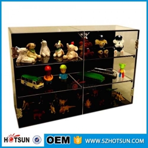 square Acrylic retail store Display cabinet/showcase
