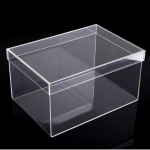wholesale cheap clear acrylic shoe sneaker box