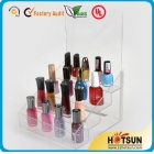 La fábrica de China 2014 Custom Clear Display Stand for Nail Polish