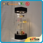 China 2014 Hot sale acrylic rotating display stand factory