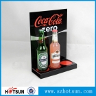 China 3 bottles acrylic wine display holder acrylic beer holder factory